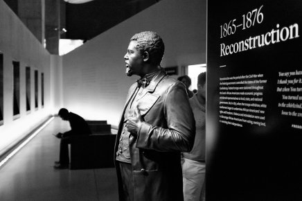 African American History Museum DC interior scene