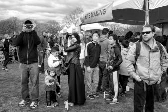 Street tableau DC Kite festival