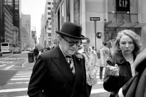 Fashionable gentleman NYC 5th Avenue