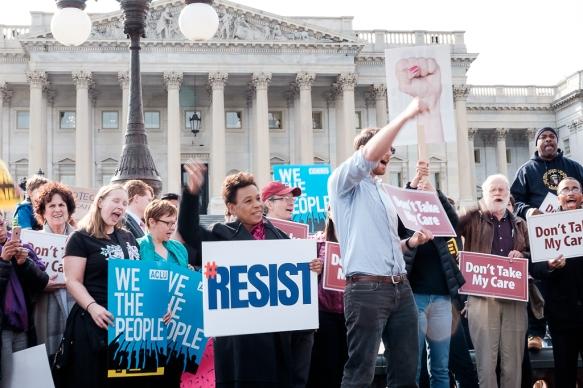 Save the ACA DC Rally Resist