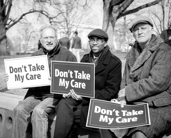 Save the ACA Don't Take Care Protestors